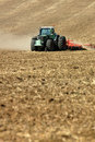Tractor On The Field Stock Image - 2939521