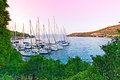 Yachts In Port Spiglia Stock Images - 29301314
