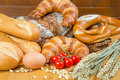 Different Types Of Bread And Tomatoes Royalty Free Stock Photos - 29302708