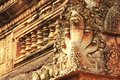 Detail Of Banteay Srey Temple, Angkor Area, Siem Reap, Cambodia Stock Photo - 29306840