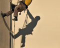 Construction Worker Shadow Stock Photography - 29314352