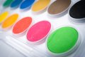 Water Color Palettes Stock Image - 29322651