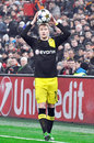 Marco Reus Enter Ball Into Play Royalty Free Stock Image - 29326976