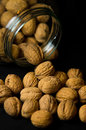 Walnuts In Jar Stock Photo - 29329530