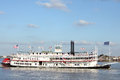 Paddle Boat On The Mississippi Stock Images - 29331924