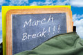 March Break Royalty Free Stock Image - 29334296