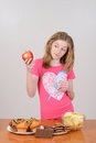 Child With A Red Apple Royalty Free Stock Photos - 29345758