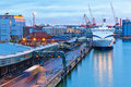 Evening View Of The Port Of Helsinki, Finland Stock Images - 29356874