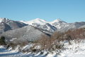 Snowy Mountain In Pyrenees Stock Image - 29359751