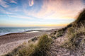 Sunset In The Dunes Stock Images - 29361434