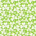 Vector Seamless Pattern With Clover Leaf Stock Photos - 29362453