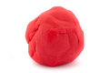 Ball Of Red Play Dough On White Stock Images - 29362604