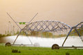 Center Pivot Irrigation System Stock Photography - 29369982