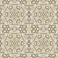 Ornamental Beige Seamless Pattern Royalty Free Stock Photos - 29378898