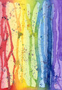 Abstract Watercolor Rainbow Colors (Highres) Stock Images - 29383844