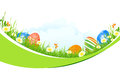 Beautiful Easter Holiday Background Stock Photography - 29390382