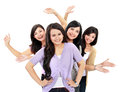 Group Of Happy Teenagers Stock Photos - 29396363