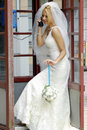 Bride Calling By Phone Royalty Free Stock Photography - 2940477