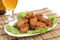 Barbecue Chicken Wings Stock Image - 2942121