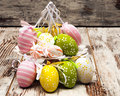 Colored Easter Eggs Royalty Free Stock Photo - 29406545
