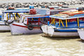 Fishing Boats In Mumbai Harbour Royalty Free Stock Photo - 29406725