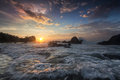 Sea View, Sunrise Royalty Free Stock Images - 29411919