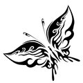 Black Butterfly Stock Image - 29413941