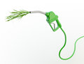 Green Fuel Nozzle Royalty Free Stock Image - 29417536