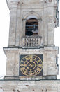 Church Bell Tower With Clock Stock Image - 29419561