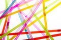 Straws In Random Abstract Shapes Stock Photography - 29434092
