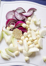 Four Kind Of Onion Royalty Free Stock Photo - 29434765