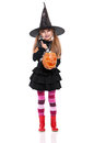 Little Girl In Halloween Costume Royalty Free Stock Image - 29438156