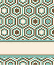 Fashion Pattern With Hexagons Stock Image - 29447601