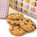 Chocolate Chip Cookies Ready To Eat Royalty Free Stock Photography - 29456827