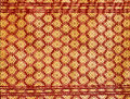 Pattern Of Thai Silk Fabric Stock Photos - 29465453