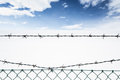 Barbed Wire Stock Photography - 29466042