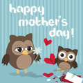 Mothers Day Owl Stock Photos - 29479053