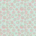 Curls Seamless Vector Pattern In Old-fashioned Sty Stock Photos - 29480363