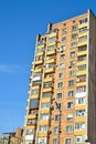 Typical Soviet Union Apartment Block Royalty Free Stock Photography - 29492167