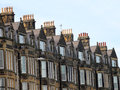 Row Of Old Victorian Town Houses Stock Images - 29492214