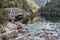 Highway Bridge In The Feather River Canyon Royalty Free Stock Images - 29496149