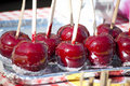Candied Apples Stock Photo - 29505810