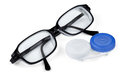 Contact Lenses And Glasses Stock Photo - 29506660
