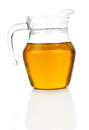Jug With Apple Juice Royalty Free Stock Images - 29507329