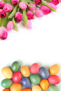 Eggs And Tulips Stock Photos - 29508943