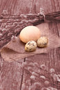 Easter Still Life (grunge Effect) Royalty Free Stock Images - 29510799