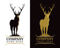Stag Deer Logo Royalty Free Stock Photo - 29515075