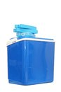 Blue Plastic Cooling Box Royalty Free Stock Photos - 29520058