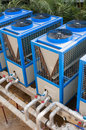 Building Cooling Assembly Stock Image - 29531831