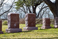 Graves Of President Lyndon And Lady Bird Johnson Stock Photos - 29538013